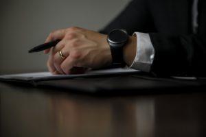 avocat et dossier de divorce